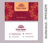 visiting card and business card ...
