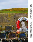 Mesh Net Shellfish Traps At Se...
