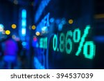 display stock market numbers in ...