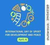 logo for children's sports... | Shutterstock . vector #394545589