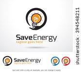 save energy logo template... | Shutterstock .eps vector #394548211