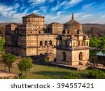 Royal Cenotaphs Of Orchha....