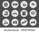 car insurance simply symbol for ... | Shutterstock .eps vector #394578964
