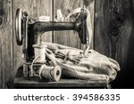 Vintage Sewing Machine With...
