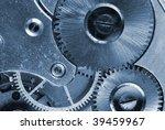 mechanism of old clock  ... | Shutterstock . vector #39459967