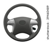 isolated steering wheel of a... | Shutterstock . vector #39460489