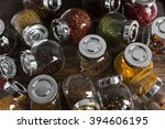 different spices and flavoring... | Shutterstock . vector #394606195