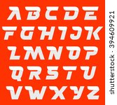 fast speed alphabet letters on... | Shutterstock .eps vector #394609921