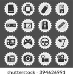 devices  simply symbols for web ... | Shutterstock .eps vector #394626991