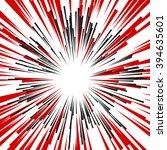 comic radial speed lines.... | Shutterstock .eps vector #394635601