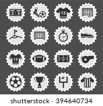 football  simply symbol for web ... | Shutterstock .eps vector #394640734