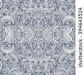 ornament round mandala....   Shutterstock .eps vector #394643524