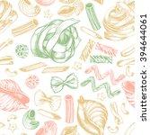 decorative seamless pattern...   Shutterstock .eps vector #394644061