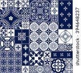 vector illustration of moroccan ... | Shutterstock .eps vector #394648237