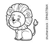 coloring book for children ... | Shutterstock .eps vector #394657864