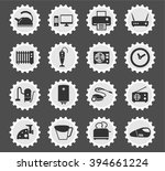home appliances  simply symbols ... | Shutterstock .eps vector #394661224