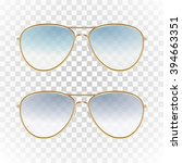 set   violet and blue color... | Shutterstock .eps vector #394663351