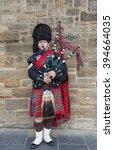 edinburgh  scotland   march 8th ... | Shutterstock . vector #394664035