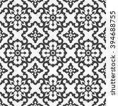 seamless vector retro pattern.... | Shutterstock .eps vector #394688755