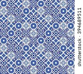 stylish seamless pattern... | Shutterstock .eps vector #394689511