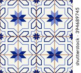 gorgeous seamless  pattern ... | Shutterstock .eps vector #394689745