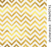 geometric golden chevron... | Shutterstock .eps vector #394690741
