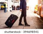 unrecognizable businessman with ... | Shutterstock . vector #394698541