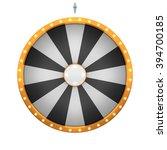 lucky spin represent the wheel... | Shutterstock . vector #394700185