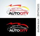 auto city car logo template ... | Shutterstock .eps vector #394706101
