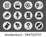 film industry  simply symbols... | Shutterstock .eps vector #394723747