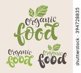 vector illustration  food... | Shutterstock .eps vector #394728835