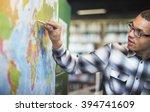 geography worldwide explorer... | Shutterstock . vector #394741609