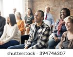 corporate seminar conference... | Shutterstock . vector #394746307