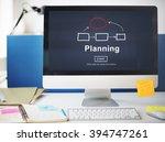 planning organization chart... | Shutterstock . vector #394747261