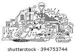 study business science | Shutterstock . vector #394753744