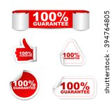 100  Guarantee  Red Vector 100...