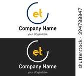 et business logo icon design...   Shutterstock .eps vector #394788847