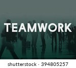teamwork team union united... | Shutterstock . vector #394805257