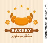 croissant icon design | Shutterstock .eps vector #394824274
