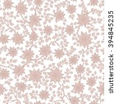 seamless vector floral pattern... | Shutterstock .eps vector #394845235
