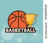 basketball icon design | Shutterstock .eps vector #394849969