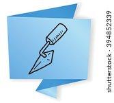 cement tool doodle   Shutterstock . vector #394852339