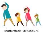 family sport | Shutterstock .eps vector #394856971