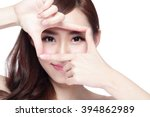 Woman Face And Eye Care And Sh...