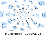 Small photo of isolated abstract number and time for on white wallpaper or background / Infinity period/ Digital generated minutes / Past Present Future / The power of now