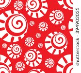 seamless wallpaper sun | Shutterstock .eps vector #394902025
