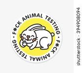 Stop Animal Testing Vector...