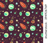 vector seamless pattern with ... | Shutterstock .eps vector #394926769
