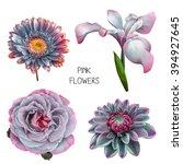 illustration of beautiful... | Shutterstock . vector #394927645