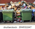 pile of rubbish | Shutterstock . vector #394931047
